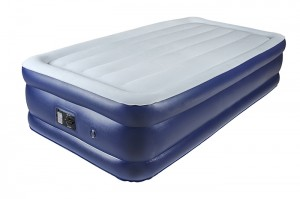 Comfort Plush Double Deck Airbed with Built-in Pump bed Height 18""