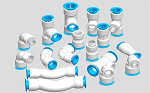 PPR push fittings