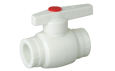 A1 Type PP-R ball valve with brass ball
