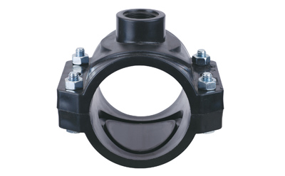 Clamp saddle without reinforcing ring