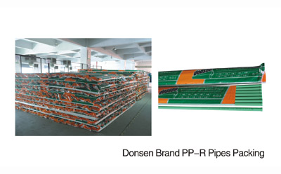 Donsen Brand PPR pipes Packing