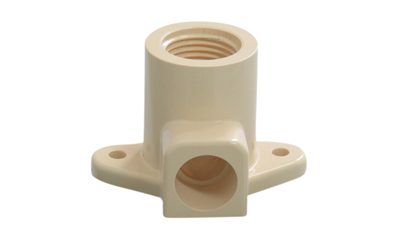 High Quality for Cpvc Pipes And Fittings - FEMALE THREADED ELBOW WALL PLATE – Donsen