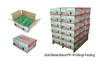 Gold Medal Brand PPR fitting Packing