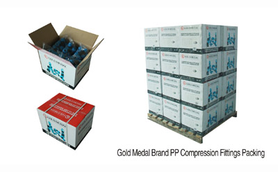 Gold Medal Brand PP Compression Fitting Packing