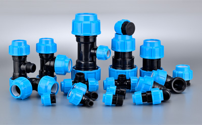 PP komprèsi Fittings