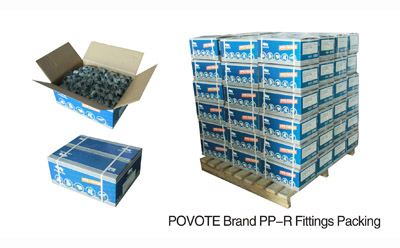 Povote Brand PPR fitting Packing