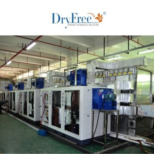 Industrial Sludge Dry And Dehumidify Machine