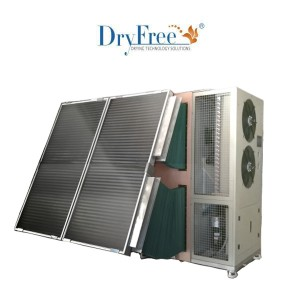 300kg Domestic solare Pompa di calore Dryer