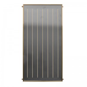 Black Flat Plate Solar Collector For Water Heater
