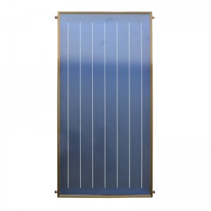 Blue Thermal Solar Flat Plate Collector For Res...