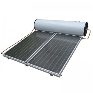 Flat Plate Thermosyphon Integrating Solar Hot W...