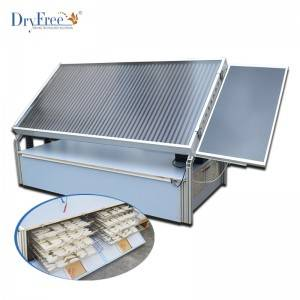 40-60kg Integrated Solar Family Dryer