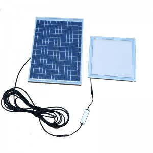 Smart Control Solar Led Skylight With Panel