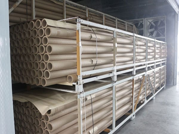 Paper tube processing of heat pump Dryer