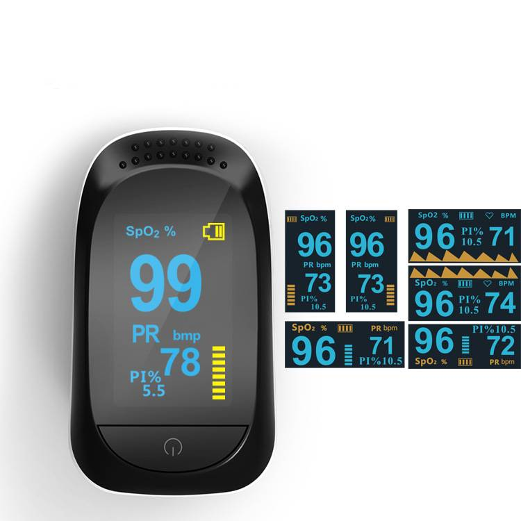 OLED dispplay DSA2 Portable finger Pulse Oximeter Featured Image