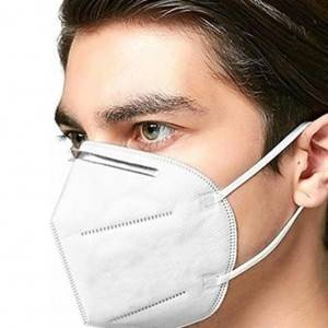 Disposable Non Woven KN95 Face Mask without filter