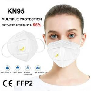 air filter KN95 face mask with valve