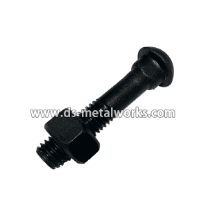 Low price for ASME B18.10 Railway Track bolt and Nut for Houston Factories