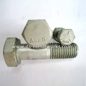 ASTM A325 berat Hex Structural Bolts