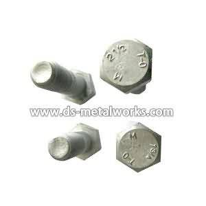 OEM manufacturer custom ASTM A394 Steel Transmission Tower Bolts to Ireland Manufacturer