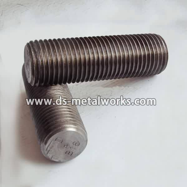 China New Product  ASTM A193 B16 All Threaded Stud Bolts for Croatia Manufacturer