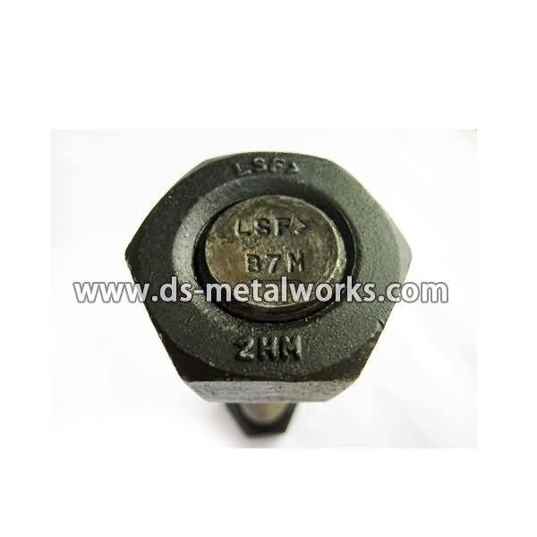 12 Years Factory wholesale ASTM A193 B7M All Threaded Stud Bolts to Germany Factory
