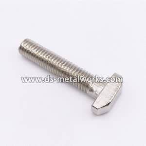 8 Years Manufacturer DIN261 DIN787 DIN186 ASME B18.5 AWWA C111-A21.11 T Bolts Supply to Naples