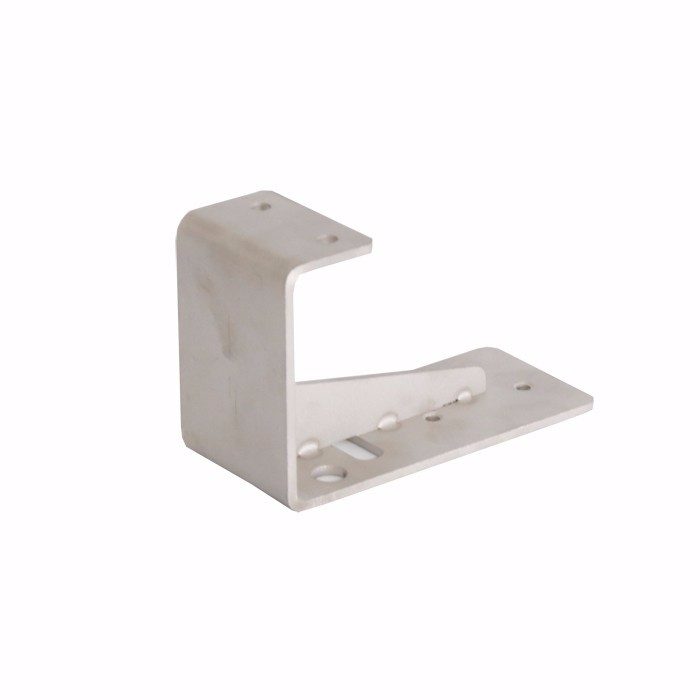 Excellent quality Custom Corner Gusset Stainless Steel Standoff Curved Shelf Bracket For Glass