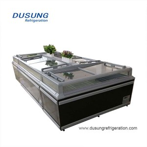PriceList for Cooler Display Counters - Supermarket refrigeration equipment island freezer – Dusung