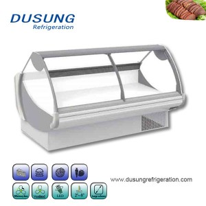 OEM Supply Vertical Showcase Freezer - Commercial Supermarket Meat Display Refrigerator Open showcase – Dusung