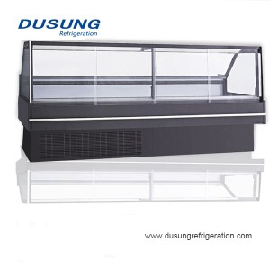 China wholesale Cabinet Cooler - Supermarket Showcase Commercial Meat Shop Equipment – Dusung