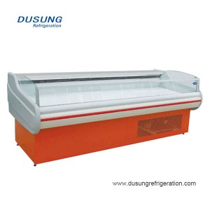 High definition Slim Display Chiller - Butcher Refrigeration Equipment meat display chiller – Dusung