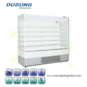Newly Arrival Swing Door Fridge Freezer - Upright Cooler Supermarket Refrigerator Merchandise Display Chiller – Dusung