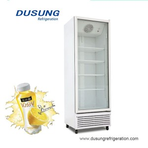 Upright refrigerator commercial beverage cooler