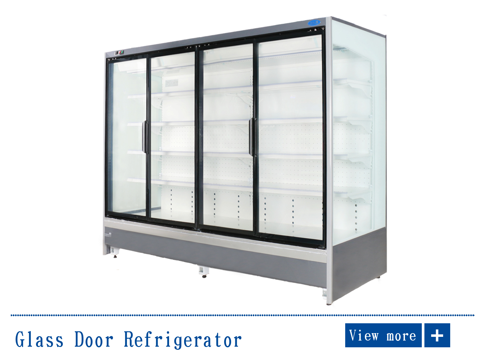 Kaca Door freezer