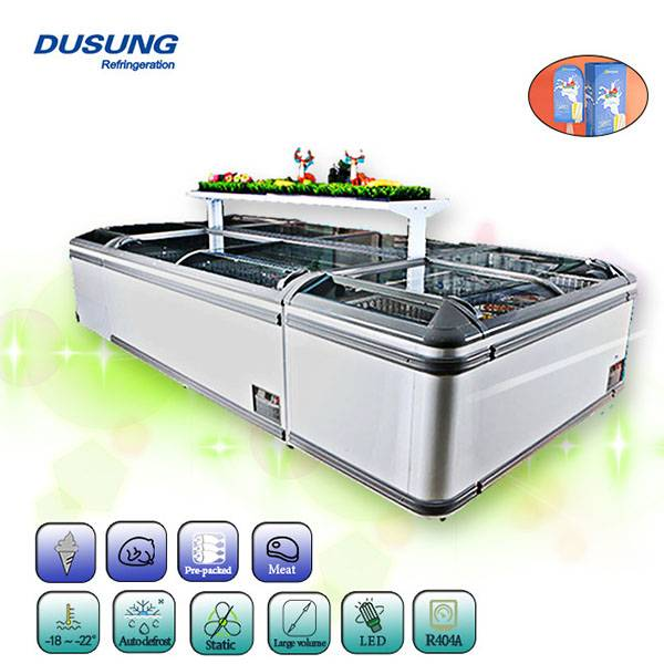 Discountable price Commercial Large Window Refrigerator -