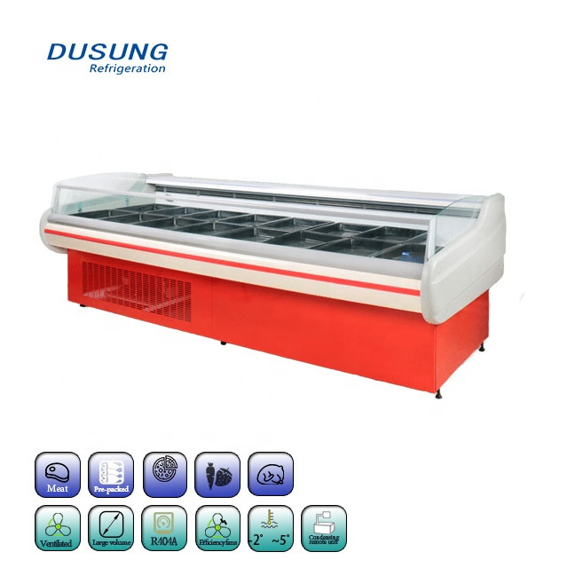 Bottom price Antifog Combined Island Freezer -