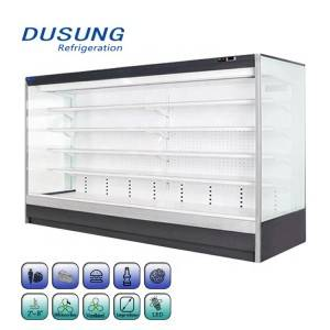 Energy Save Commercial Air Curtain Refrigerator