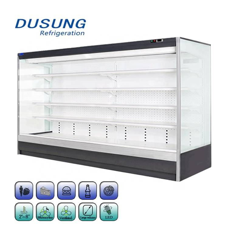 Energy-Save-Commercial-Air-Curtain-Refrigerator