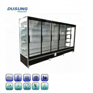 Factory Wholesale Commercial Glass Door Refrigerator