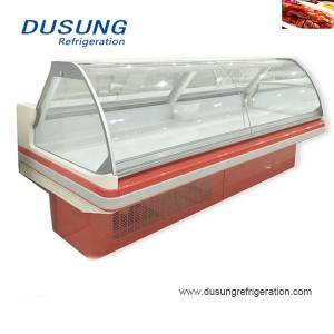 17-Commercial Open Counter Deli Fish Display Refrigerator