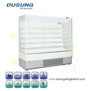 Upright Cooler Supermarket Refrigerator Merchandise Display Chiller