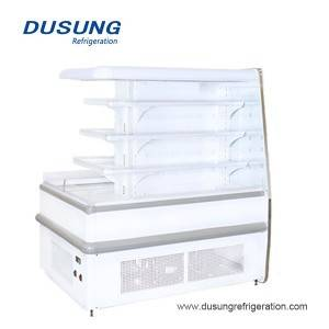 Dusung convenience stores annular open display refrigerator