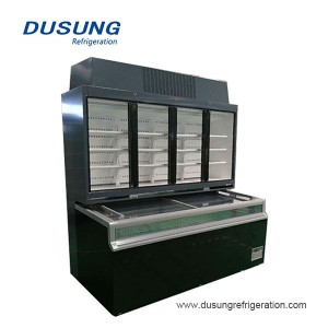Dusung Commercial Chest freezer replaceable combined type chiller freezer