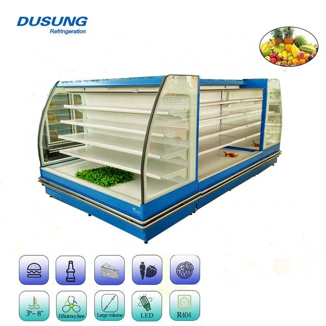 Supermarket-Open-Display-Refrigerator-Commercial