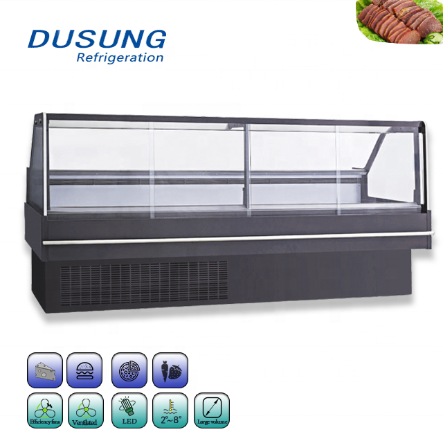 Supermarket-Refrigerated-Meat-Shop-Equipment-For-Sale