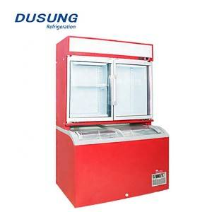 Supermarket display fridge commercial refrigerator and freezer