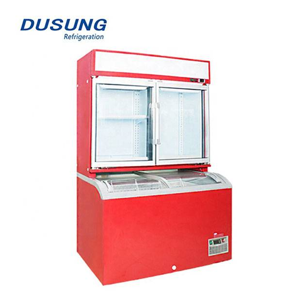 Supermarket-display-fridge-commercial-refrigerator-and-freezer