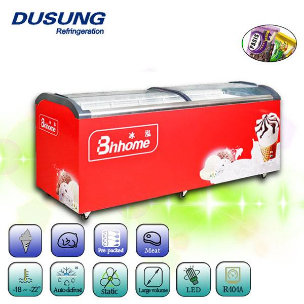 factory low price Glass Door Display Chiller -