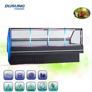 Factory Price Counter Top Refrigerator Stainless Steel -